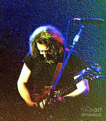 Grateful Dead - East Coast Tour - Jerry Garcia Poster by Susan Carella