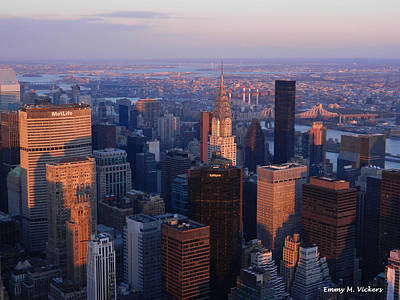 East Coast Wonder Aerial View Poster