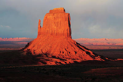 East Mitten At Sunset, Monument Valley Poster