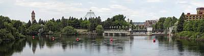 East Riverfront Park And Dam - Spokane Washington Poster