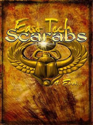 East Tech Scarabs4eva Poster