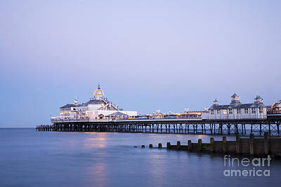 Eastbourne Pier At Twilight Poster by Colin and Linda McKie