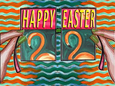 Easter 54 Poster by Patrick J Murphy