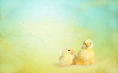 Easter Chicks Poster