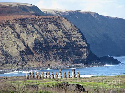 Easter Island Requiem Poster