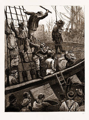 Easter-tide Ceremonies Flogging Judas Iscariot Poster by Litz Collection