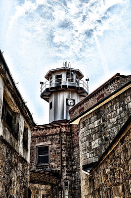 Eastern State Penitentiary Guard Tower Poster by Bill Cannon
