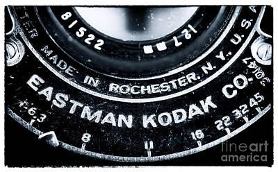 Eastman Kodak Co Poster by John Rizzuto