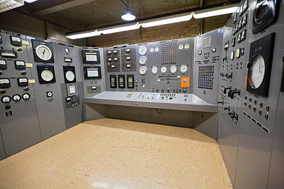 Ebr-i Nuclear Reactor Control Room Poster