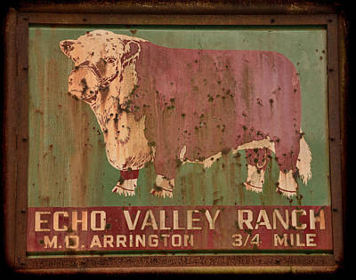 Echo Valley Ranch Poster