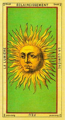 Eclaircissement - La Lumiere Tarot Card Poster by Bill Cannon