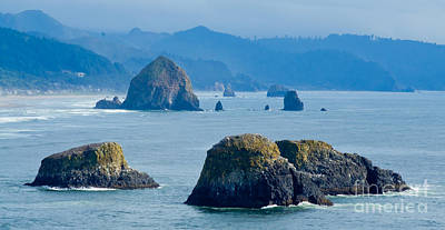 Ecola State Park Seascape Poster