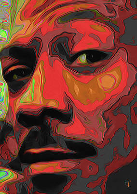 Eddie Murphy Poster by  Fli Art