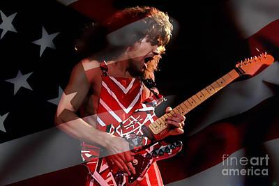 Eddie Van Halen Poster