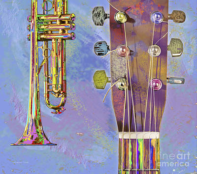 Edible Instruments Poster by Gordon Wood