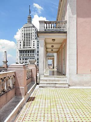 Edificios Altino E Martinelli - Sao Paulo Poster by Julie Niemela