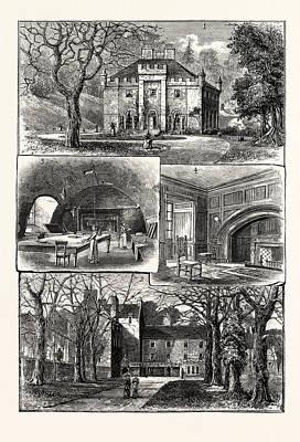 Edinburgh 1. The Hermitage Braid 2. Craig House 3 Poster by English School