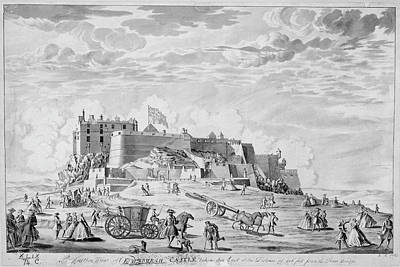Edinburgh Castle Poster by British Library