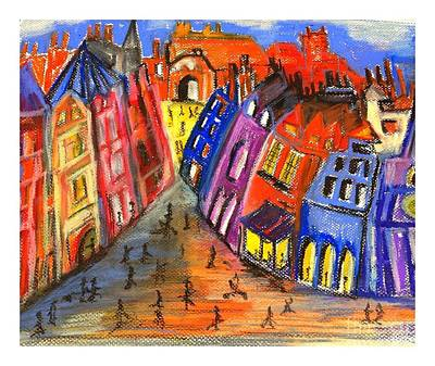 Edinburgh's Royal Mile  Poster