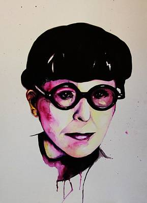 Edith Head Poster by Talula Christian