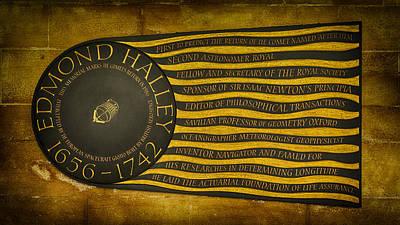 Edmond Halley Memorial Poster