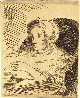 Edouard Manet, French 1832-1883, The Convalescent La Poster