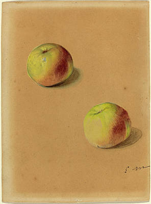 Edouard Manet French, 1832 - 1883, Two Apples Poster