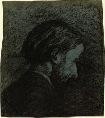 Edouard Vuillard French, 1868 - 1940, Head Of A Bearded Man Poster