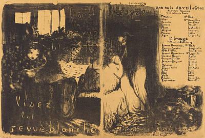 Edouard Vuillard French, 1868 - 1940, Lisez La Revue Poster