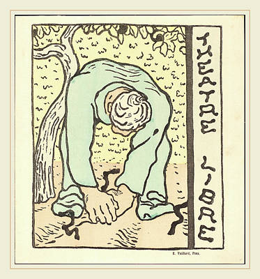 Edouard Vuillard French, 1868-1940, Monsieur Bute Lamant De Poster