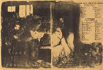 Edouard Vuillard French, 1868 - 1940, Une Nuit Davril à Poster