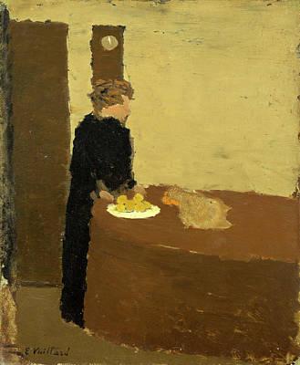 Edouard Vuillard French, 1868 - 1940, Woman In Black Poster