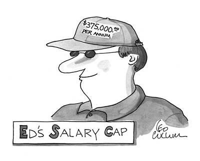 Ed's Salary Cap Poster