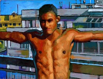 Eduardo On The 12th Floor Poster