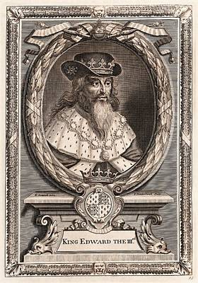 Edward IIi Poster by Middle Temple Library