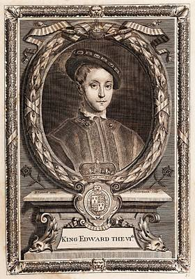 Edward Vi Poster by Middle Temple Library