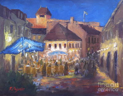Eger At Night Poster