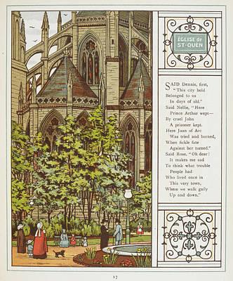 Eglise De St. Quen (saint-ouen) Poster
