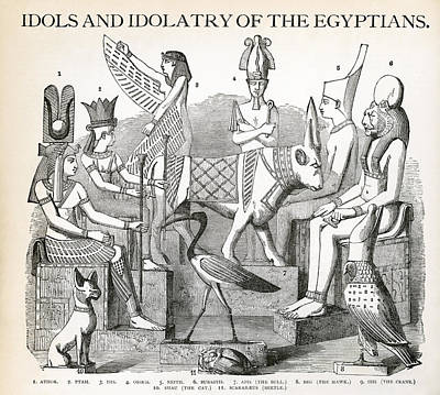Egyptian Idols  Poster by Daniel Hagerman