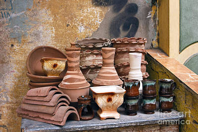 Egyptian Potter Poster by Mohamed Elkhamisy