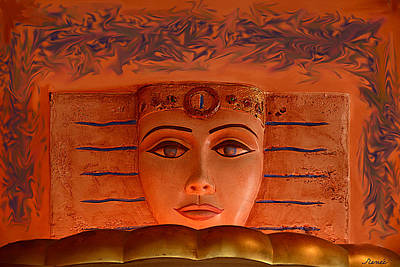 Egyptian Queen Nefertiti  Poster