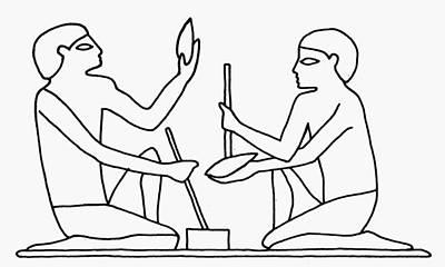 Egyptian Tool Making Poster by Granger