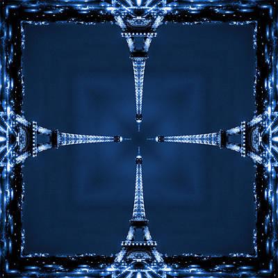 Eiffel Art 27 Poster by Mike McGlothlen