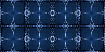 Eiffel Art 28a Poster by Mike McGlothlen