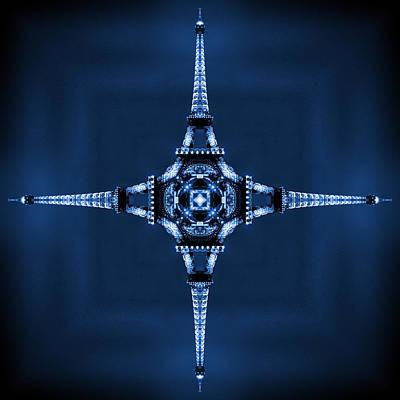 Eiffel Art 35 Poster by Mike McGlothlen