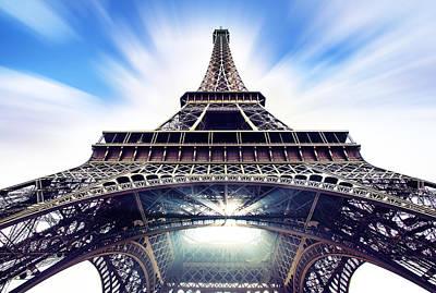 Eiffel Poster by Ivan Vukelic