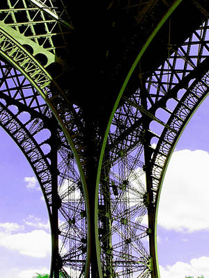 Eiffel Lace Poster