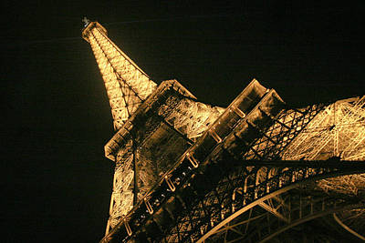 Poster featuring the photograph Eiffel by Silvia Bruno