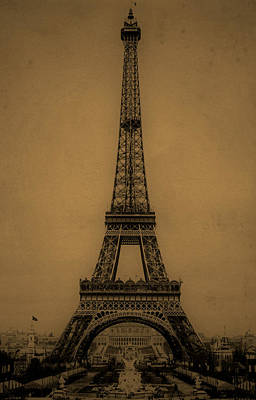 Eiffel Tower 1889 Poster by Andrew Fare