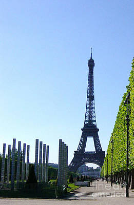 Poster featuring the photograph Eiffel Tower by Deborah Smolinske